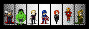 Avengers Assemble by labrattish