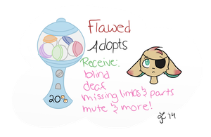 GACHA! Flawed Adopts (CLOSED) by Smelly-Mouse