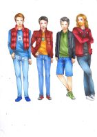 THE AVENGERS -Casual outfit by PiCcoLa-LicAnTRoPA