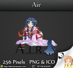 Air - Anime Folder Icon by lSiNl