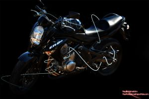 Electrifying motorbike by The-proffesional