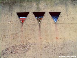 Three Triangle by ViolettButterfly