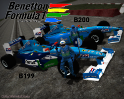 F1 Classics: Benetton B199 and B200 Liveries by MarineACU