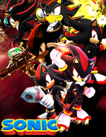 Sonic the Hedgehog - Shadow by DENDEROTTO