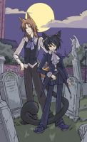 In the Graveyard by Cinnamoron