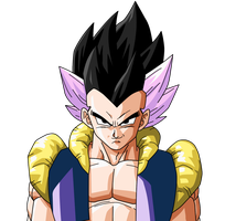Adult Gotenks Portrait by jeanpaul007