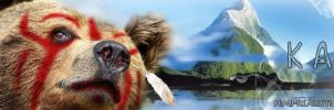 Banner Commish - Karuk Tribe by Riarious
