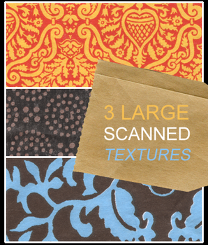 3 large scanned textures by Kiho-chan