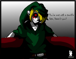 Ben Drowned (color) by vikhop