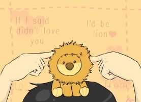 I'd  be lion by OtherStrange