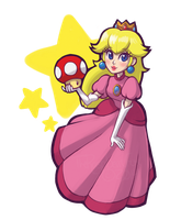 Princess Peach by TheRaspberryFox