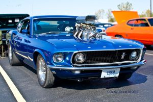 1969 Ford Mustang Mach 1 by StormPix