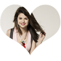 corazon selena gomez by Larii-editions11