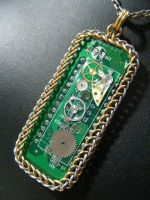 Steam Circuit in Maille by BacktoEarthCreations