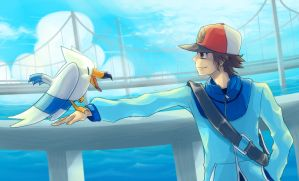 Pokemon : Sky Arrow Bridge by Sa-Dui