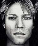 John Bon Jovi - Pencil by Doctor-Pencil