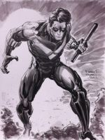 Nightwing by FreddieEWilliamsii