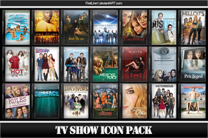 TV Show Icon Pack 8 by FirstLine1