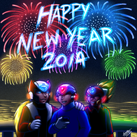 New Year 2014 - Maverick Hunters by samusmmx