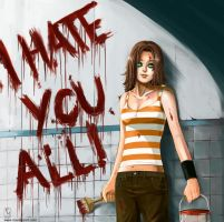 I Hate You All by rodmendez