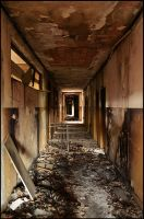burned corridor by RUCgost