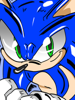 Race 2 Win -Sonic The Hedgehog- by XavierScribbles