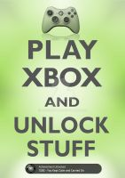 Play Xbox and Unlock Stuff by tazerguy