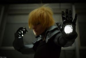 One Punch  Cosplay - Genos by slayer500