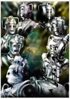 Evolution of the Cybermen by jlfletch
