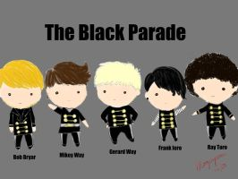 the black parade chibis by mogupom