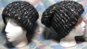 Seriphs-KiiKii Greyscale Hat Commission by SmilingMoonCreations