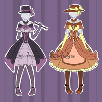 Victorian Outfit Adoptable CLOSED by AS-Adoptables