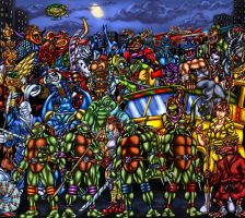 TMNT - Looking For A Few Good Mutants by SoulStryder210