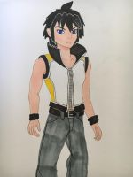 Alain as Riku by madiquin185