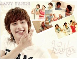 Happy Bubble KyuHyun ^^ by SNSDLoveSNSD