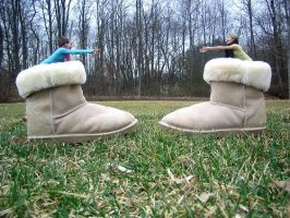 Uggs by RepeatingYesterday