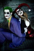 Harley / Joker - Not too bad by Chaves87
