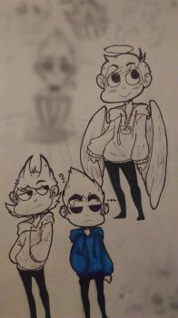 Eddsworld doodles  by ShardKeeper