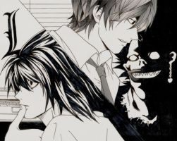 Random Death Note pic by Daina