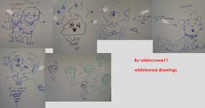 Whiteboard doodles by roisincrowe11