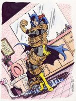 Batgirl python peril by sterma