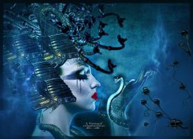 snake woman 3 by annemaria48