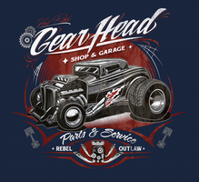 gear head art brown73 by BROWN73