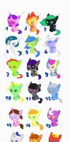 Mlp babys adoption 2 OPEN by Laurinel