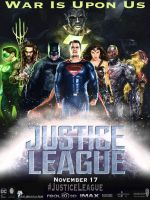 Justice League Movie Poster (Black Adam) by zg01man