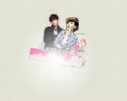 Myungsoo x Hwayoung Wallpaper by ljoeholic
