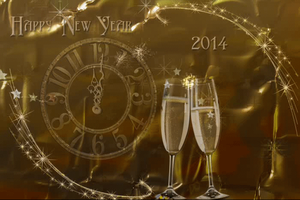 Happy New Year 2014 by magicsart