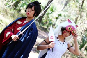 Princess Mononoke: Enemies by xXSnowFrostXx