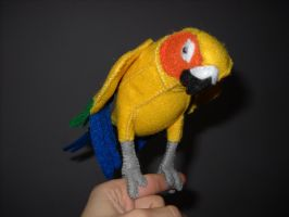 Sun Conure Plush by Shamaru