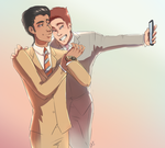 Suit+Tie by LAZdancewithme